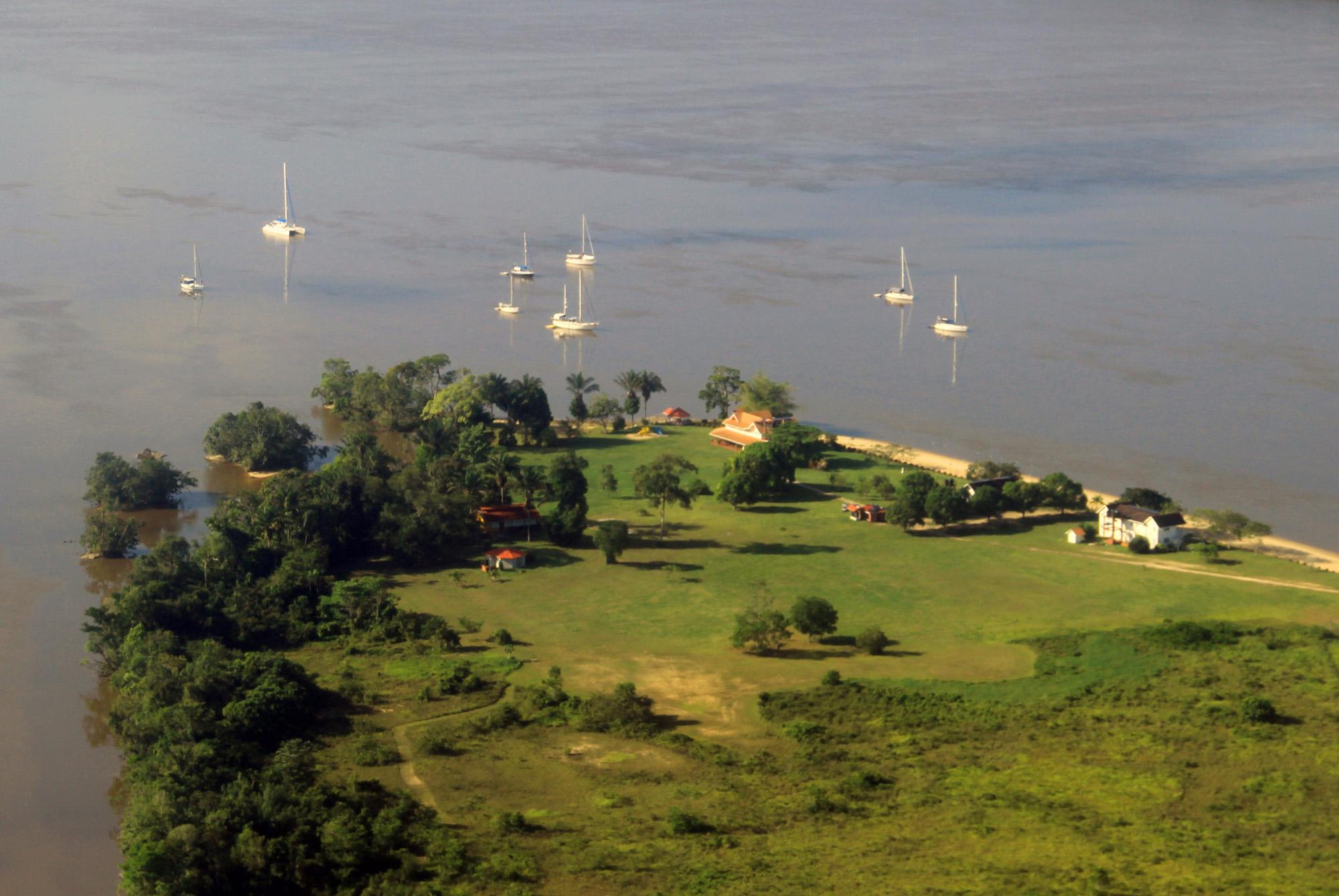Baganara-aerial-view